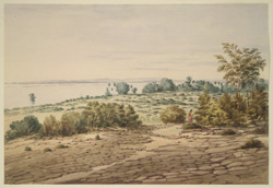 View in Kyouk Taloung; looking over the River N.E.